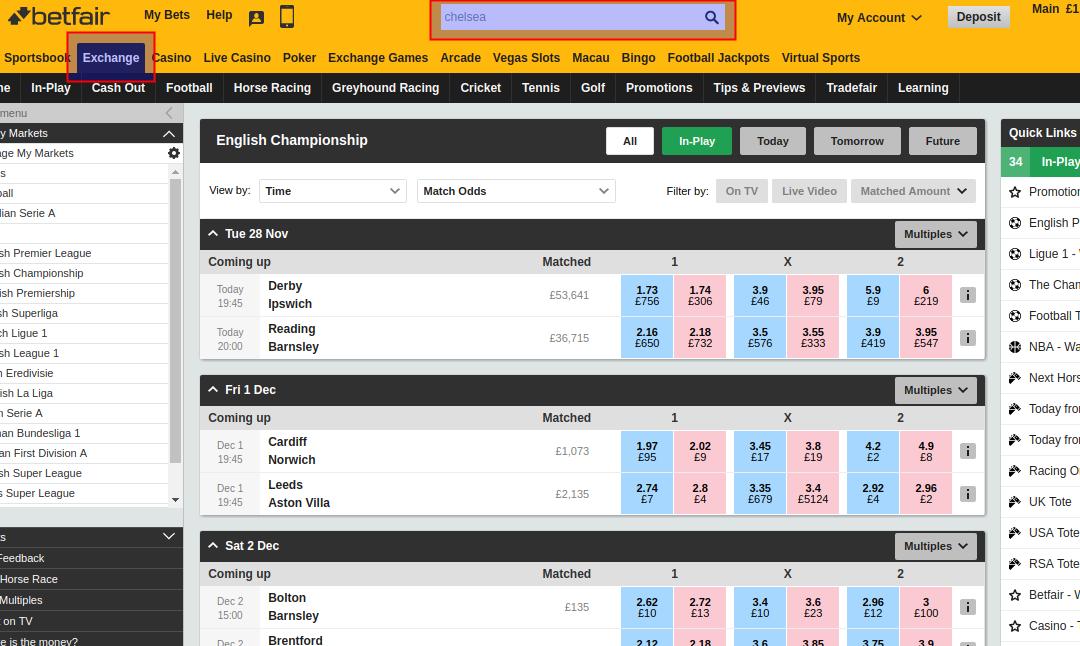 lay draw betting